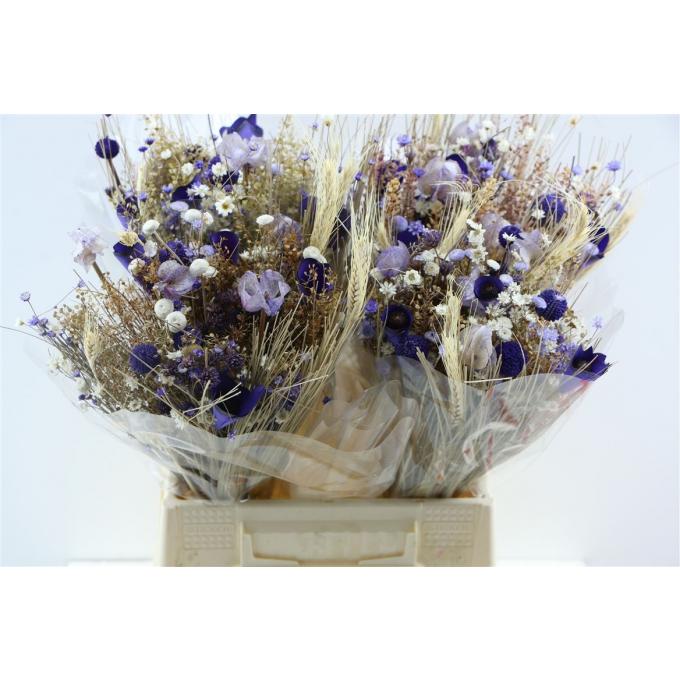 Dried flower bouquet Fantasia Milka