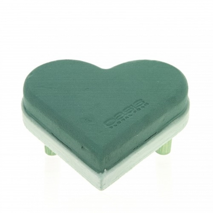Oasis® Ecobase heart on legs in four dimensions